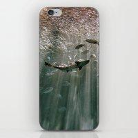secret life iPhone & iPod Skins featuring Deep Secret by RichCaspian