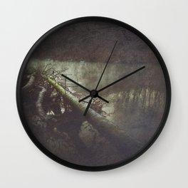 driftWood Wall Clock