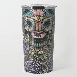 Bastet on the field Travel Mug