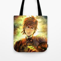 hiccup Tote Bags featuring Hiccup by keiden