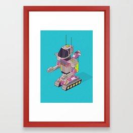 Robot 05 Framed Art Print