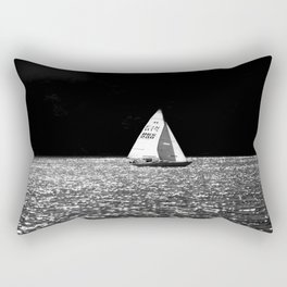 Sailing On The Lake Rectangular Pillow