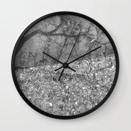 Tree Reflection Wall Clock
