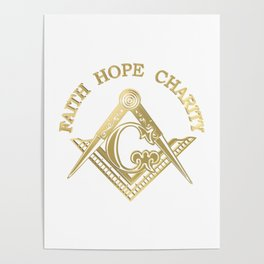 Masonic symbol Poster