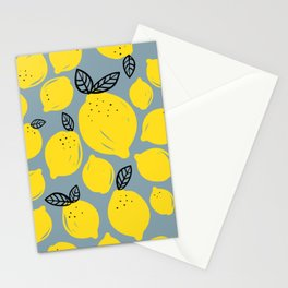 Lemons 2 Stationery Cards