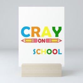 Last Day of School Teacher design Mini Art Print