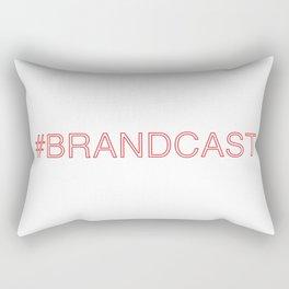 #BRANDCAST Rectangular Pillow
