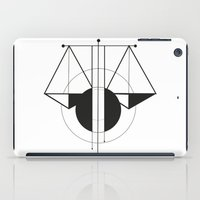 libra iPad Cases featuring Libra by LydiaSchüttengruber