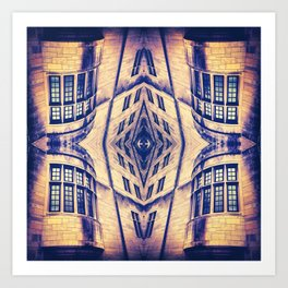 Hogwarts on Acid Art Print