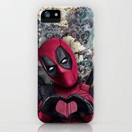 Dead pool - Sweet superhero iPhone Case