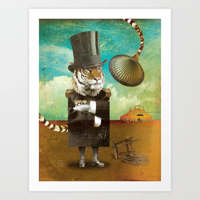 Circus-Circus: Trainer Art Print