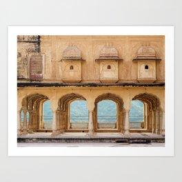 Arches of Perception Art Print