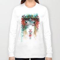 princess Long Sleeve T-shirts featuring princess by Irmak Akcadogan