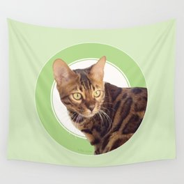 Boris the cat - Boris le chat Wall Tapestry