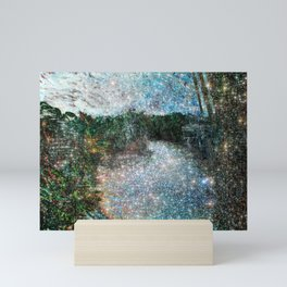 Riverwalking Mini Art Print