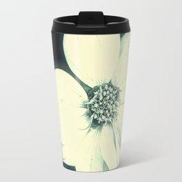 White Dahlia, Christmas Star Travel Mug