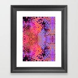 FluO BulB Framed Art Print