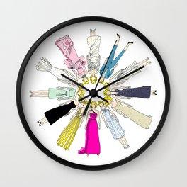 Marilyn Fashion Pink  Wall Clock