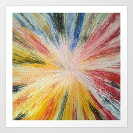 Nova Explosion Art Print
