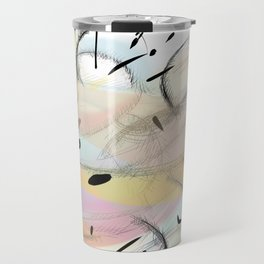 Colors abstract landscape CS15 Travel Mug