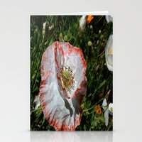 degas Stationery Cards featuring Degas' poppy by Bee in Eden