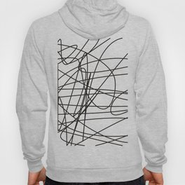 Simple black lines no.2 Hoody