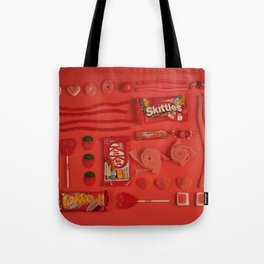 Red Candy Tote Bag