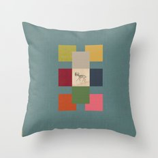 Ballagàrraidh Throw Pillow