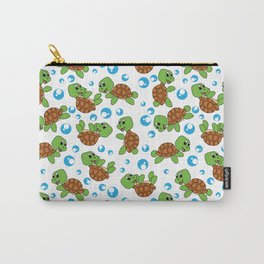 Turtle Neck Gator Turtles Carry-All Pouch