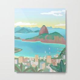 Brazil, Rio de Janeiro Metal Print