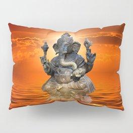 Elephant God Ganesha Pillow Sham