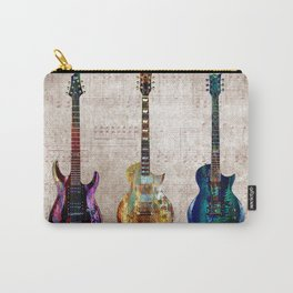 Sounds of music. Three Guitars. Carry-All Pouch