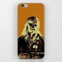 chewbacca iPhone & iPod Skins featuring Chewbacca by iankingart