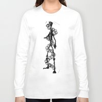 dna Long Sleeve T-shirts featuring 'DNA' by ABITAR