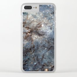 Space Galaxy Clear iPhone Case