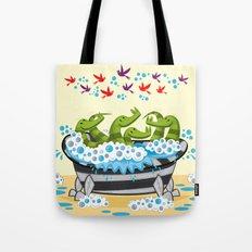 Crocodile Soup Tote Bag