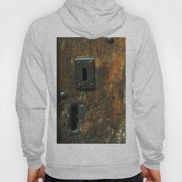Old Wooden Door with Keyholes Hoody