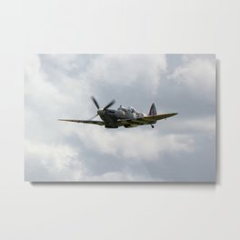 Spritfire Mk9 Metal Print