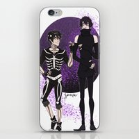 yaoi iPhone & iPod Skins featuring Skelender by Jackce