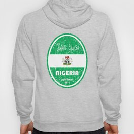 World Cup Football - Nigeria (Distressed) Hoody