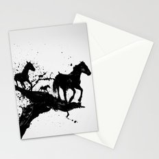 Liquid horses Stationery Cards