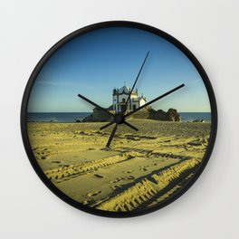 Beach Chapel  Wall Clock