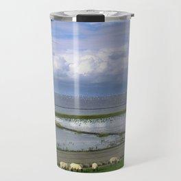 On the dike Travel Mug