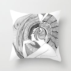 Egocentric Throw Pillow