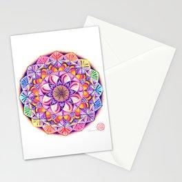 CROWN CHAKRA MANDALA Stationery Cards