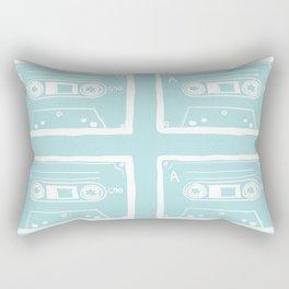 Vintage Cassettes Rectangular Pillow