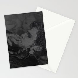 It is what the kiss exposed Stationery Cards