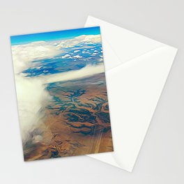 Somewhere Over the Desert Stationery Cards