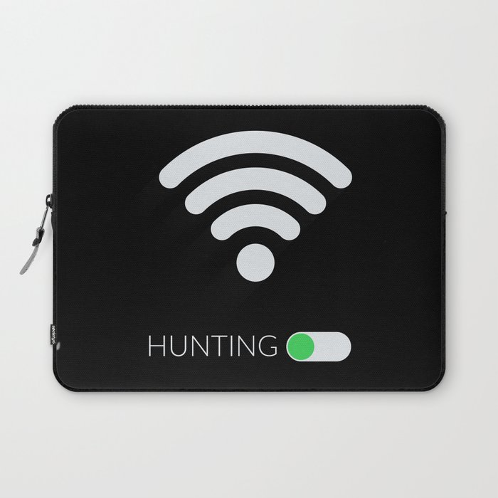 Wifi Hunting Laptop Sleeve