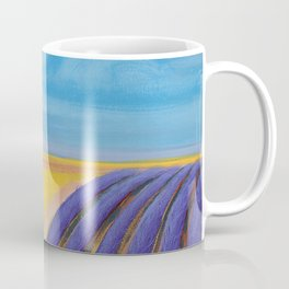 LAVENDER FIELD of SANTA YNEZ Coffee Mug